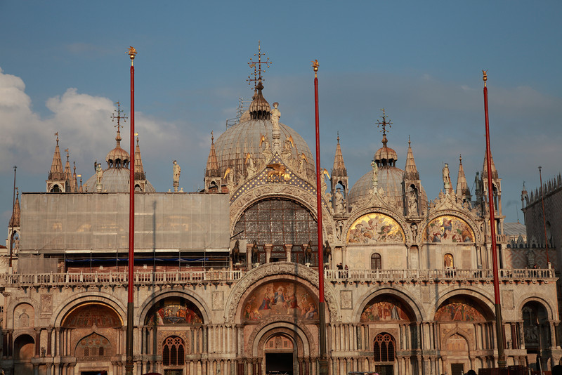 St Mark's Basilica, St Mark's Square, Venice, Italy