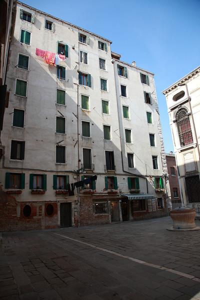 The Jewish Quarter, Venice, Italy