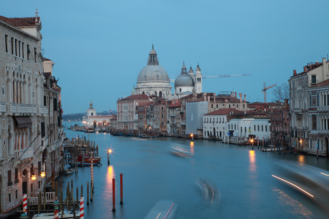 Canal Grande, Venice, in the early evening