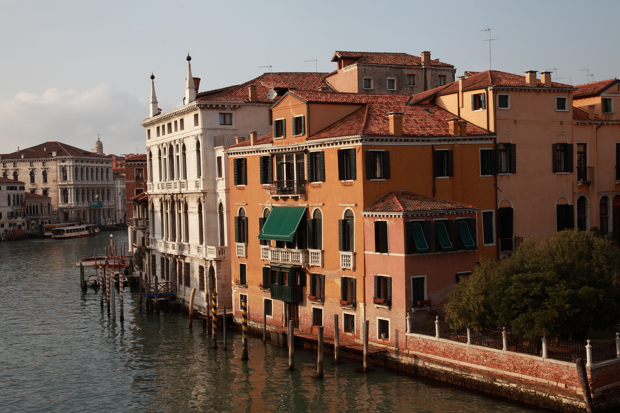 A quiet moment on the Grand Canal, Venice, Italy