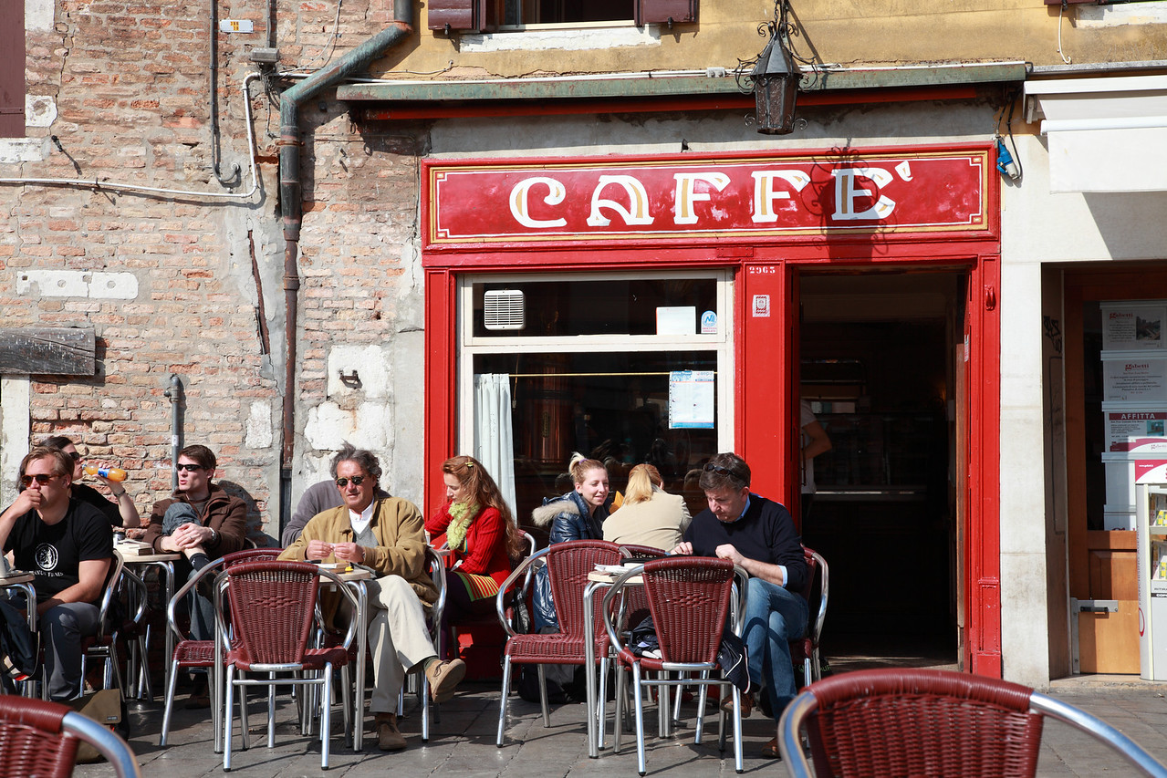 Cafe in Venice, Italy