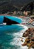 Beach at Cinque Terra - Monterosso, Italy