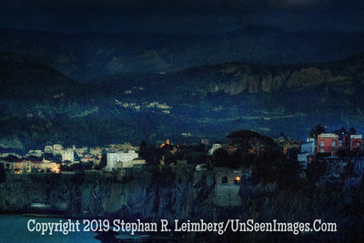 Mountains of Sorrento - 20 x 30 Copyright 2015 Steve Leimberg - UnSeenImages Com DSCF0082