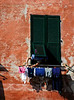 Laundry day in Cinque Terra - Vernazza, Italy