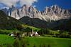 St. Magdalena, Italy - Dolomites