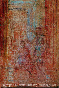 Wall Detail Man and Angel - Copyright 2015 Steve Leimberg - UnSeenImages Com