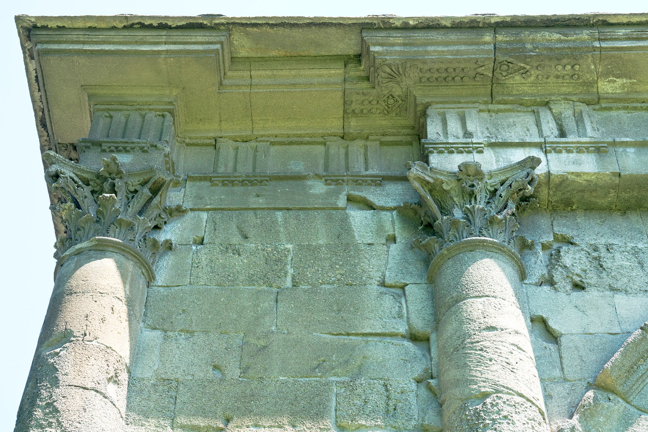 Arch of Augustus Detail, Aosta, Italy