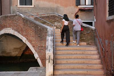 One of the many bridges, Venice, Italy