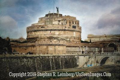 Castle with Clouds - Copyright 2015 Steve Leimberg - UnSeenImages Com  - Copy - Copy
