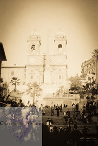 The Spanish Steps of Rome