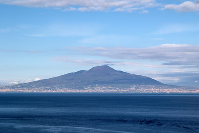 Vesuvius, Naples, Italy 15 January 2018