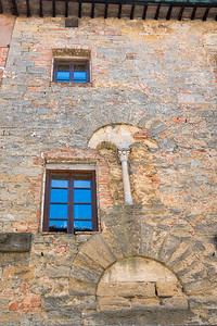 Medieval Tuscan Wall