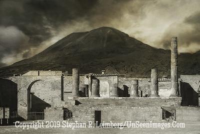 Ruins in Front of Mountain - 20 x 30 Copyright 2015 Steve Leimberg - UnSeenImages Com DSCF0101