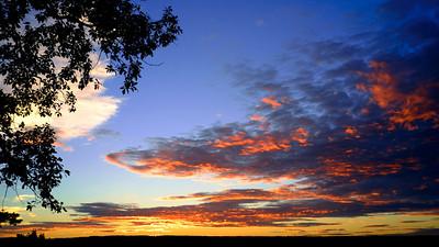 extra-horizon cloud-bounced light