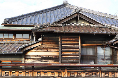 The old-style wooden buildings are scattered throughout N. and are supposed to be preserved, but they largely have an air of decaying decripitude.