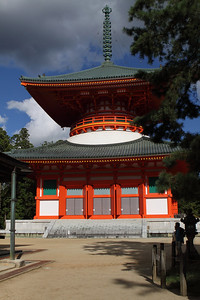 Konpon-Daito, Great Pagoda - part of the Garan Sacred Precinct