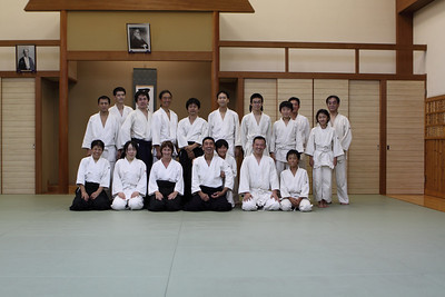 The more mature students follow-on class. Children who attend this class have usually been training with Ariga sensei for 6-7 years.