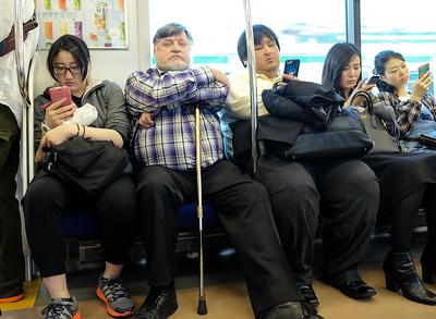 Bob on Train