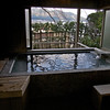 Private onsen (hot spring bath): so nice!