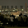 Watchers on a nearby roof top... 大 2011