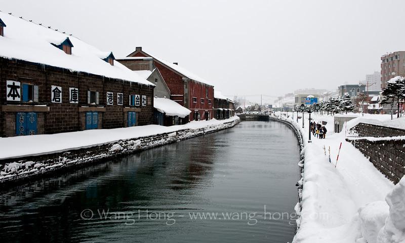 Otaru Canal. 小樽运河。