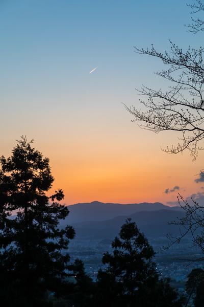 Sky Overlook Kyoto Japan