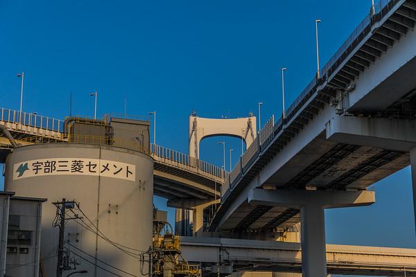 Highway Bridges in Tokyo Japan