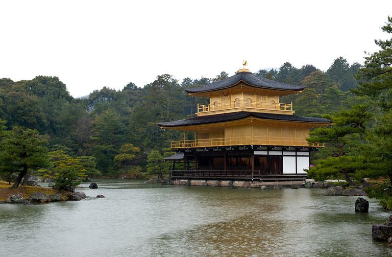 Kinkaku-ji temple in Kyoto 京都金阁寺