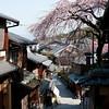 Street near Kiyomizu-dera temple in Kyoto 京都清水寺附近的小街