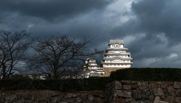 Himeji Castle, December 2015.