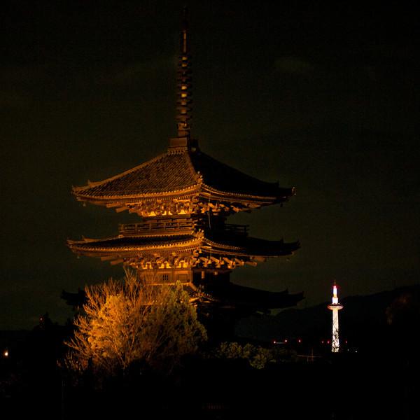 霊応山法 観禅寺 八坂の塔