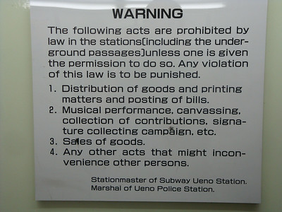 Station rules