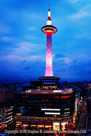Kyoto Tower - Copyright 2019 Steve Leimberg UnSeenImages Com L1220475