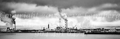 Kushiro Harbor - B&W Copyright 2017 Steve Leimberg - UnSeenImages Com _DSF4934