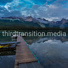 Maligne Lake Dock
