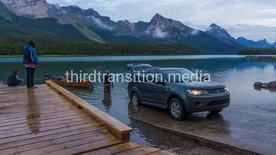 Maligne Lake Boat Launch, Jasper