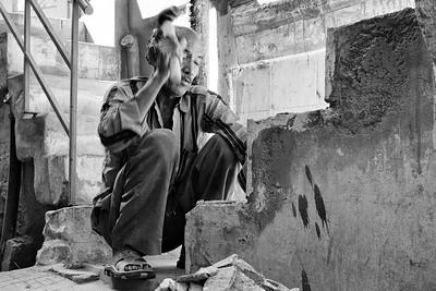 Working in Jodhpur, India