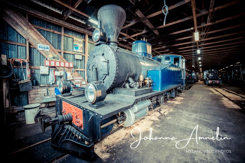 Jokioisten museorautatien resiinaretki
