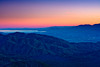 Keys View<br /> <br /> Sunset over the Coachella Valley