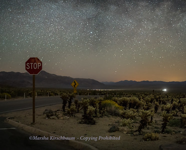 Stop!  Milky Way - Joshua Tree National Park