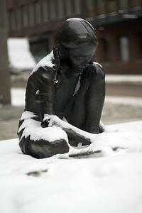 Girl in snow 5