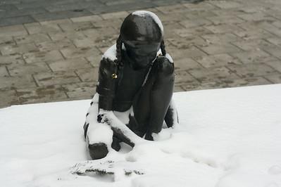 Girl in snow 3