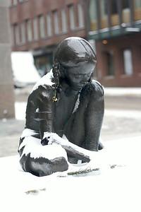 Girl in snow 4