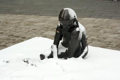 Girl in snow 2