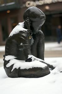 Girl in snow 6