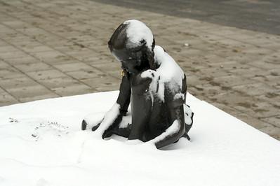 Girl in snow 1
