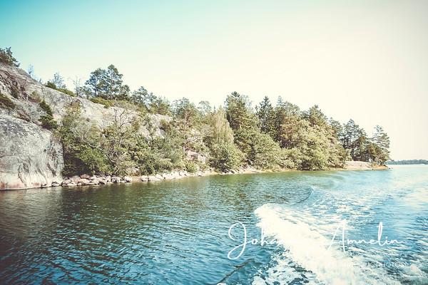 Hiidenkirnut Jungfruholmenissa, veneretki Saaristomeren kansallispuistoon