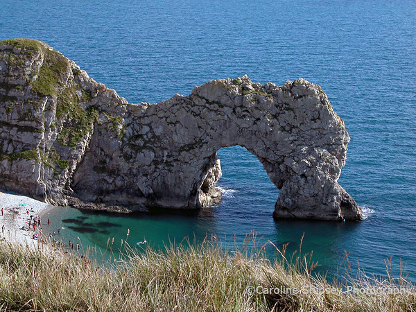 Durdle Door at Lulworth Cove, Dorset