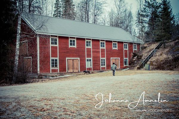 Juvankoski vanhoine rakennuksineen