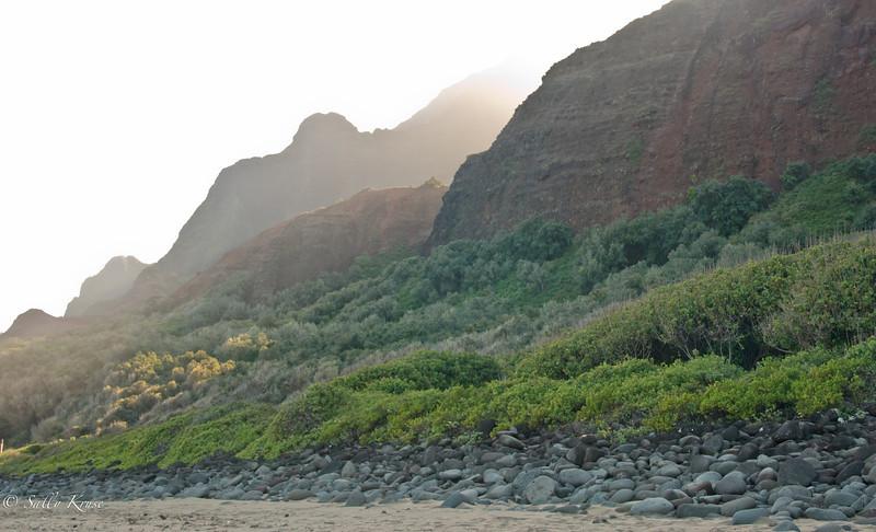 Kalalau Trail, Na Pali coast, Kauai, Hawaii